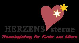 Logo Herzenssterne Trauerbegleitung für Kinder & Eltern